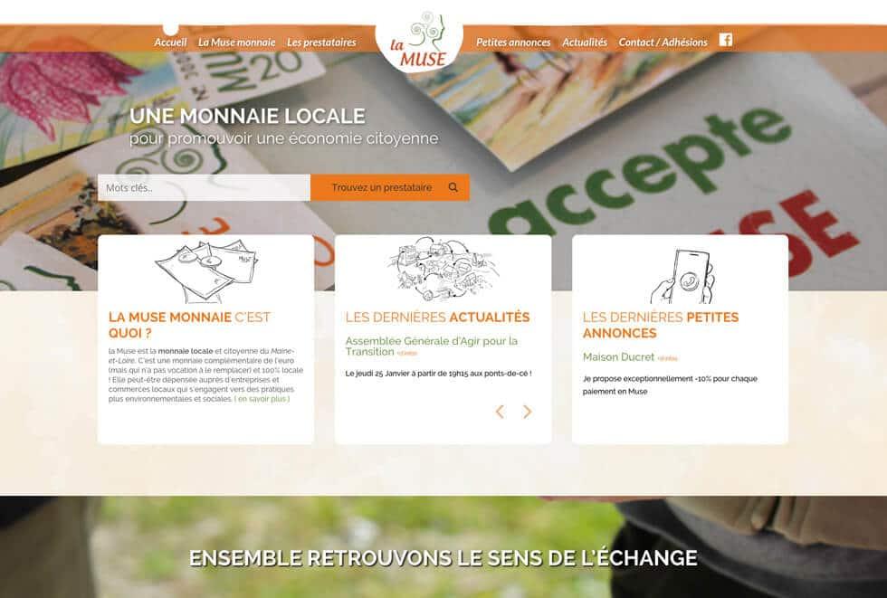 La monnaie locale de Angers, trelazé, Chemillé, doué-en-Anjou, Saumur